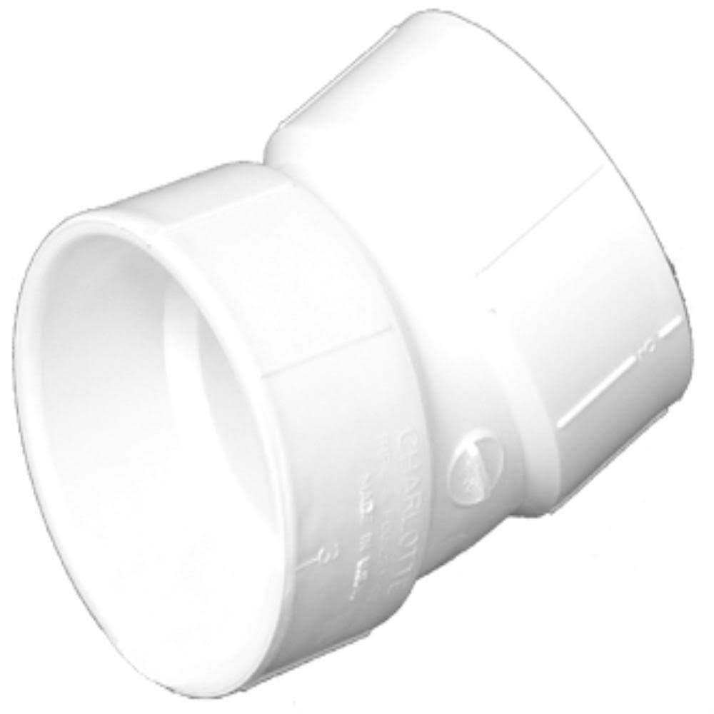 Charlotte Pvc Elbow Pipe - 3''