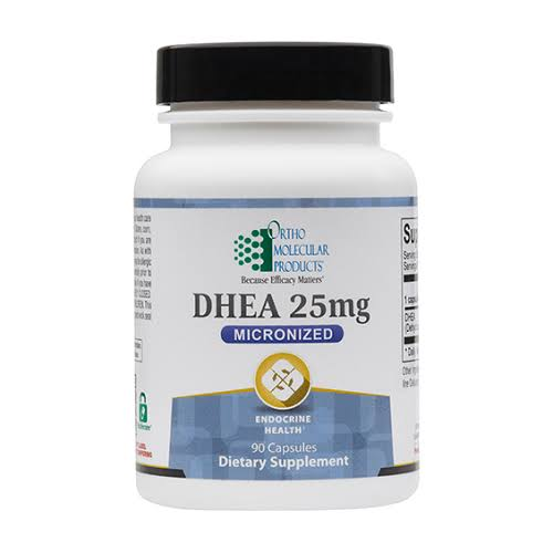Ortho Molecular Products Dhea - 25mg - 90 Capsules