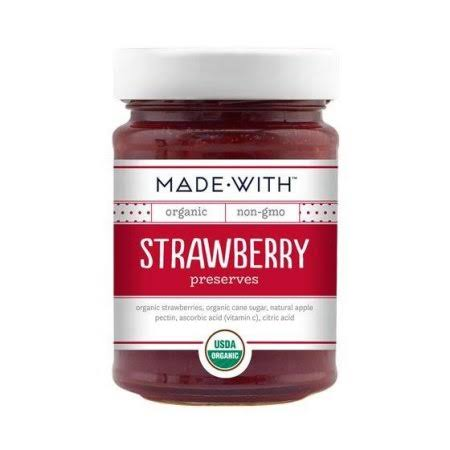 Made With Organic Strawberry Preserve - 11oz