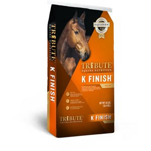Kalmbach Feeds Tribute K Finish Horse Supplement - 40lbs