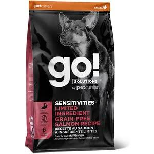 Go! Solutions Sensitivities Limited Ingredient Salmon Recipe Dry Dog Food, 22-lb