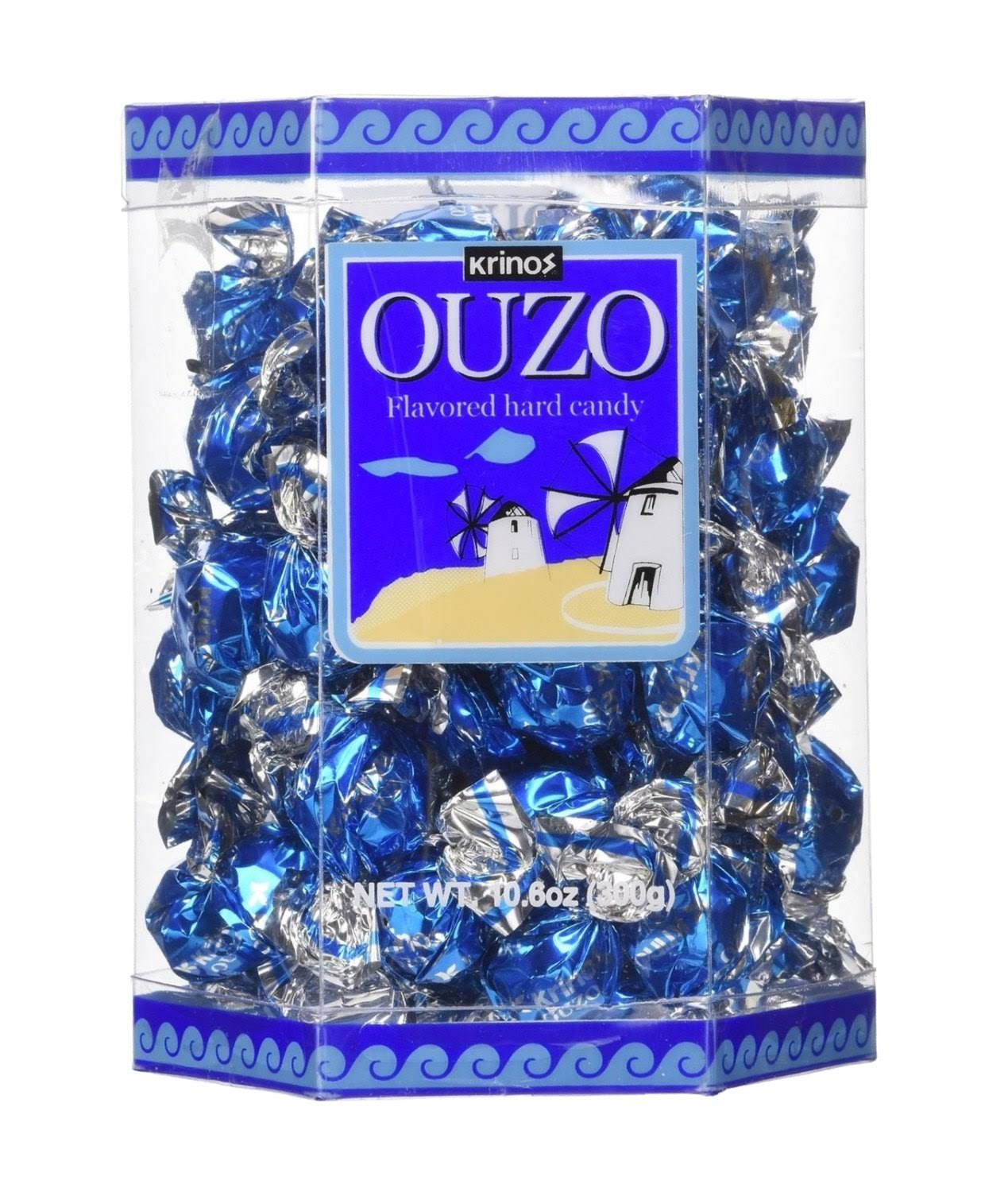 Krinos Ouzo Candy Value - 10.6oz