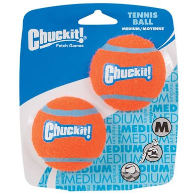 Chuckit Tennis Balls - Medium, x2