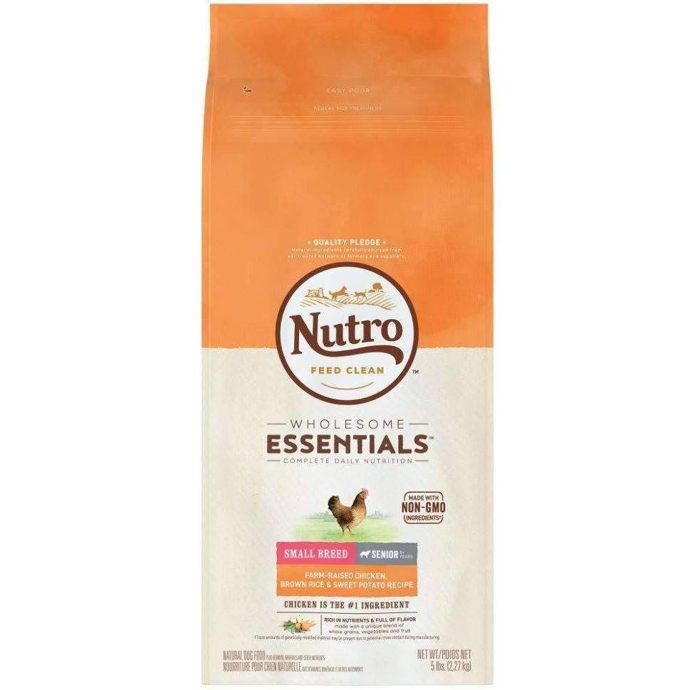 Nutro Small Breed Senior Chicken Food - Brown Rice & Sweet Potato