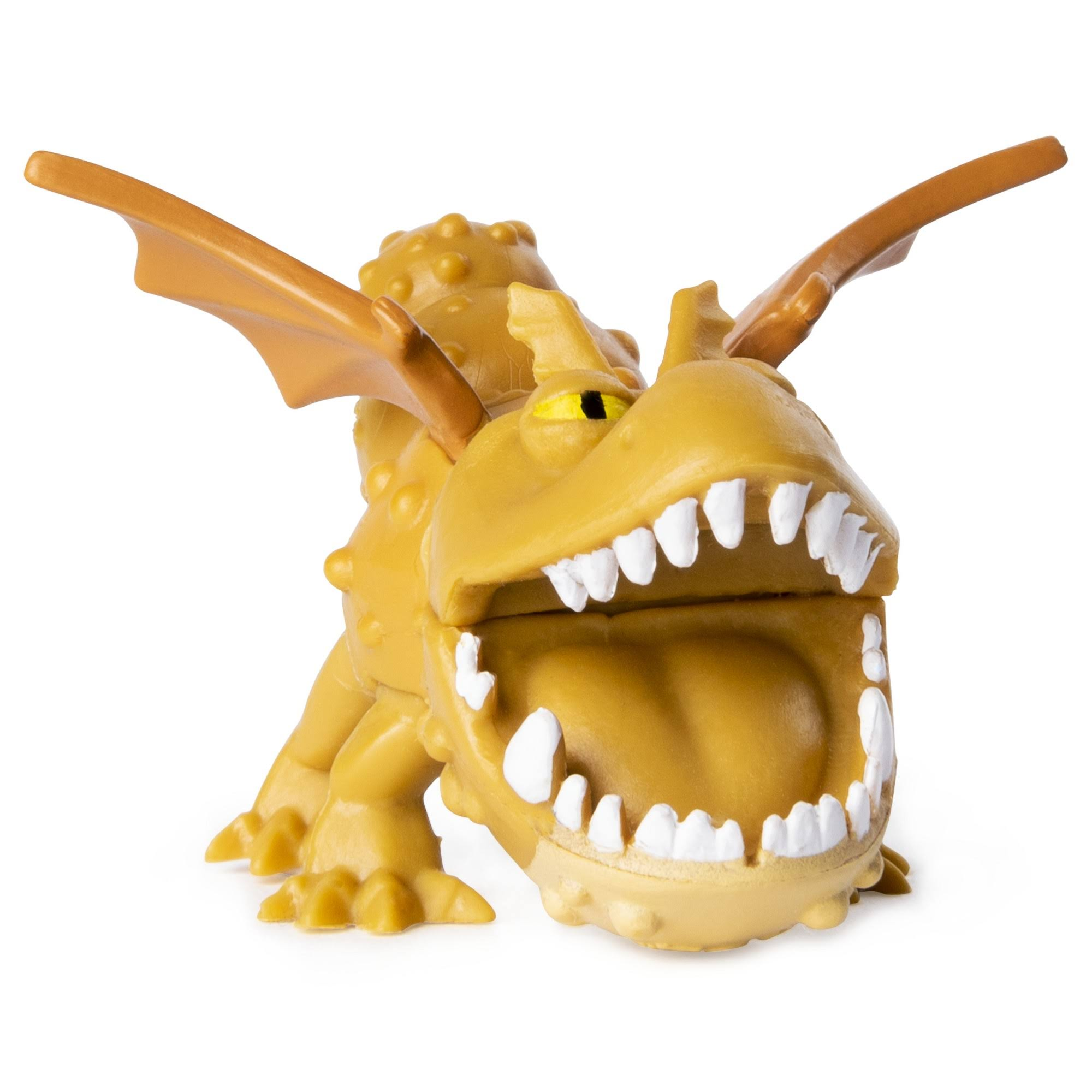Dreamworks Dragons Mystery Dragons, Meatlug Collectible Mini Dragon Figure, for Kids Aged 4 and Up