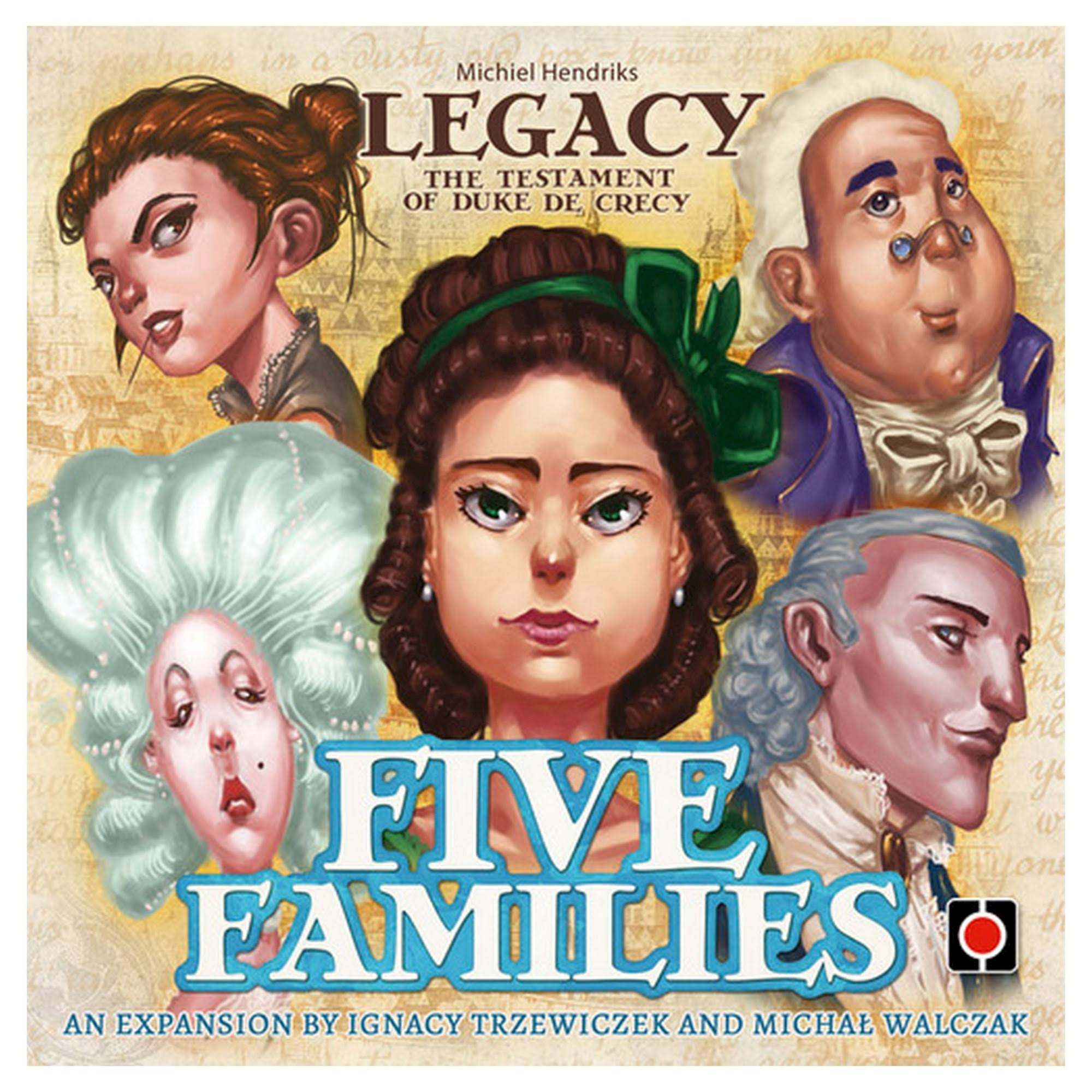 Legacy Five Families Board Games