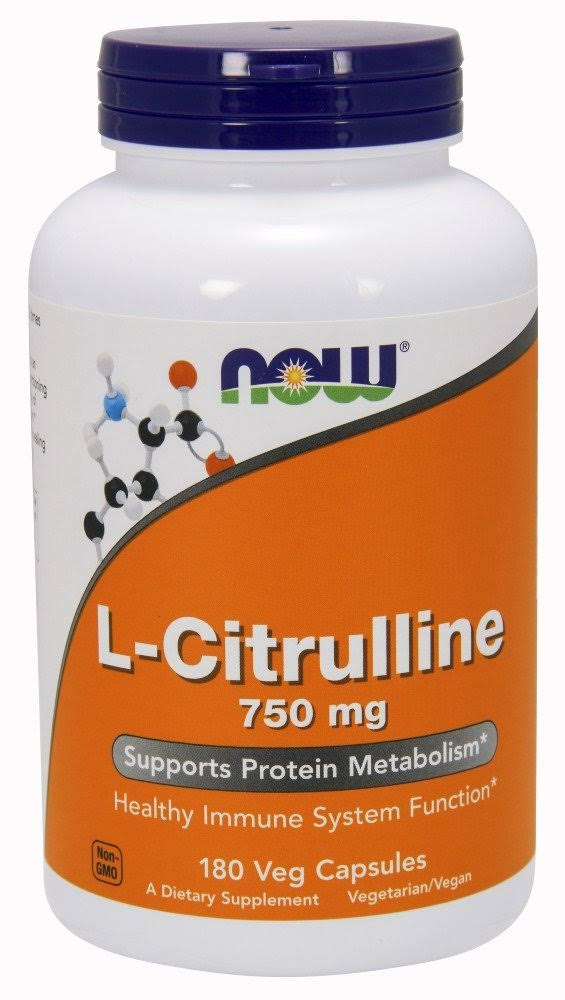 L-Citrulline Cardiovascular Health - 750mg, 180 Capsules