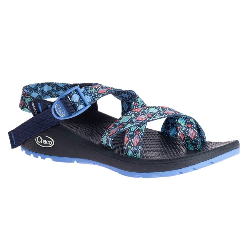 Chaco Women's Sandals - Z/cloud 2 Trace Eclipse, 9 US