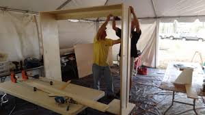 Wood Bunk Beds Plans by How To Build A Side Fold Murphy Bunk Bed How Tos Diy