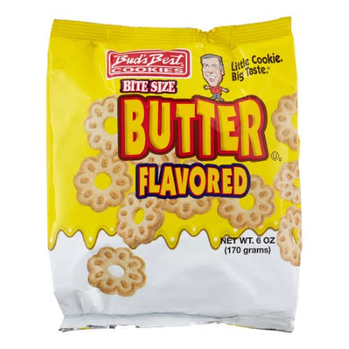Bud's Best Butter Cookies