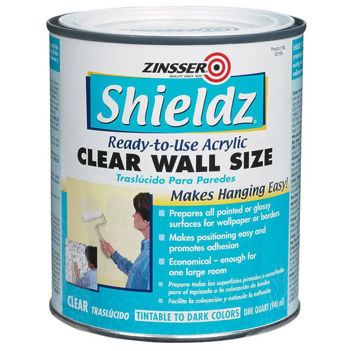Zinsser Shieldz Wall Size Primer - Clear