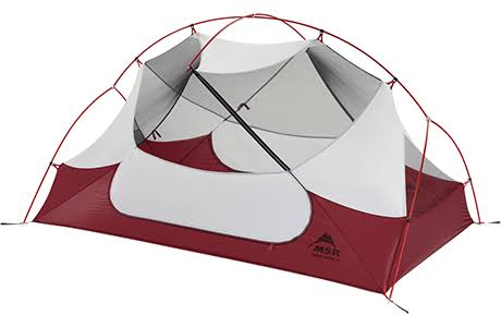 MSR Hubba Hubba NX 2 Person Tent - Red
