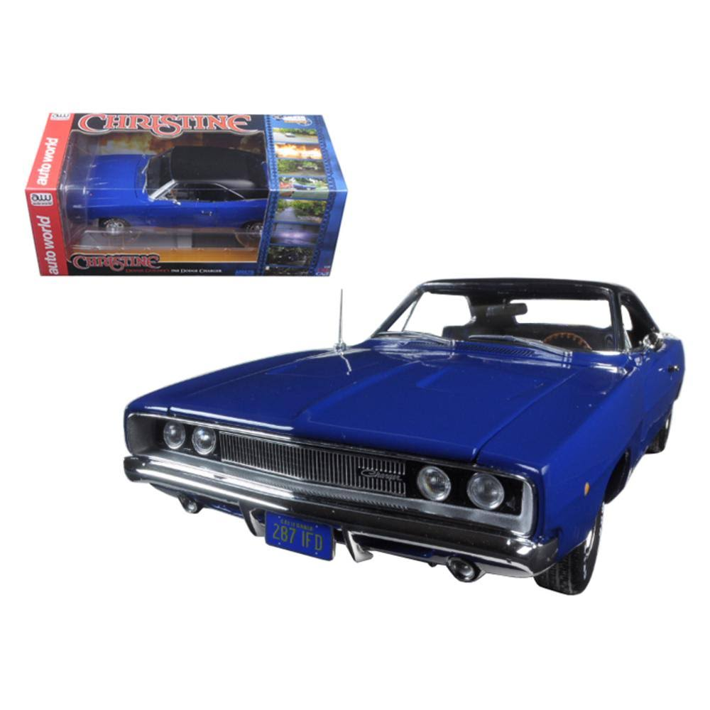 Auto World Christine 1968 Dodge Charger 1:18 Scale Diecast Model