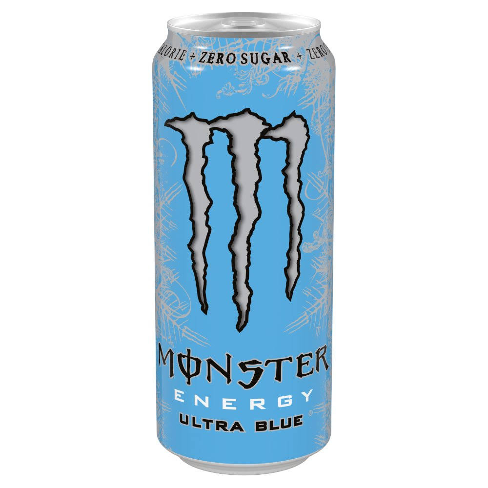 Monster Ultra Blue Energy Drink - 500ml