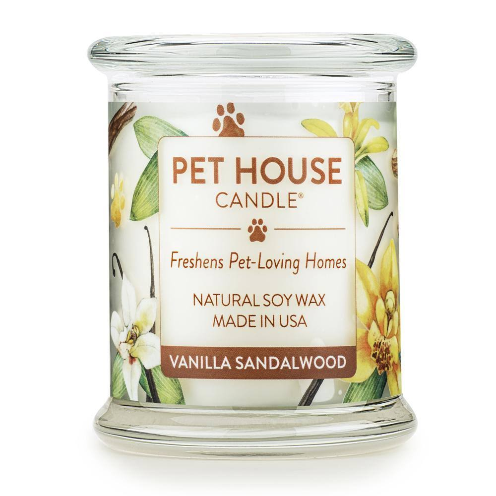 American Distribution 69488 8.5 Ounce Vanilla Sandalwood Candle