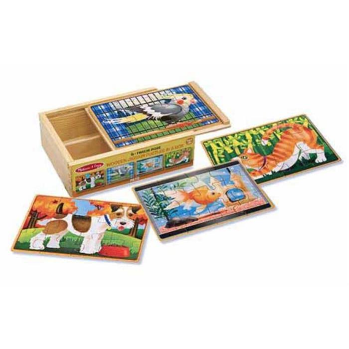 Melissa & Doug - Pets Puzzles In A Box