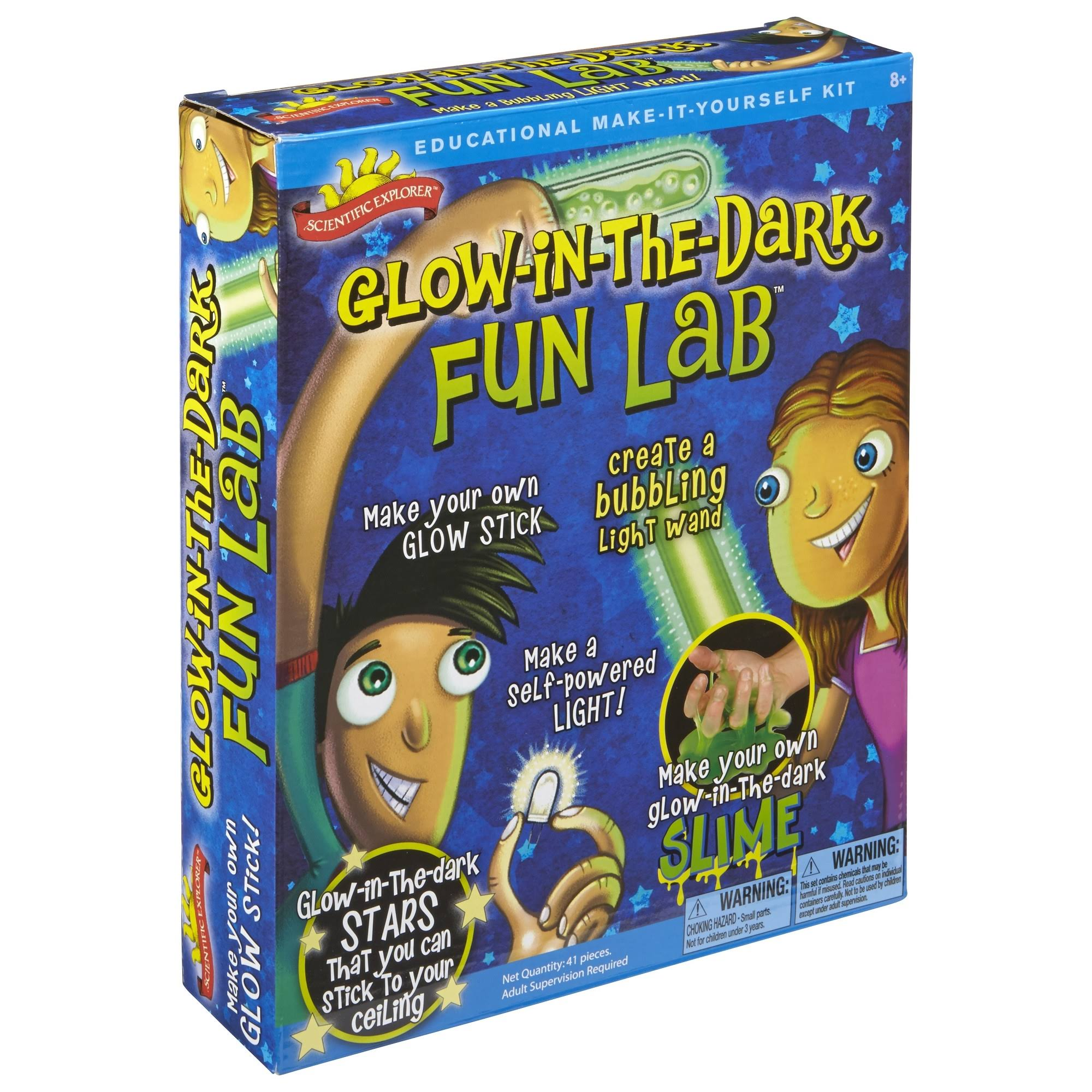 Scientific Explorer Glow In The Dark Fun Lab