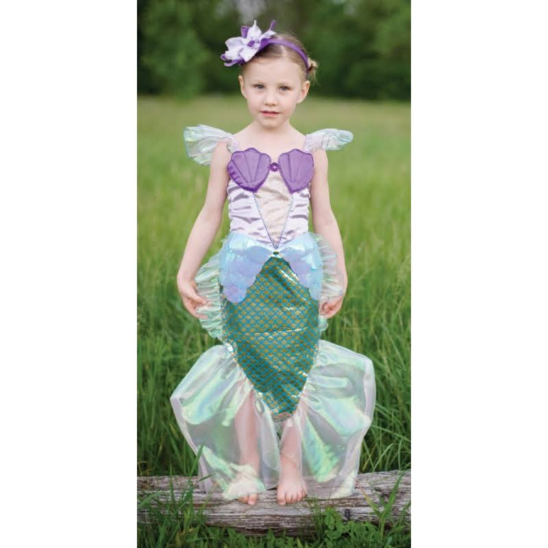 Great Pretenders Mermaid Dress, Blue/Lilac, One Size