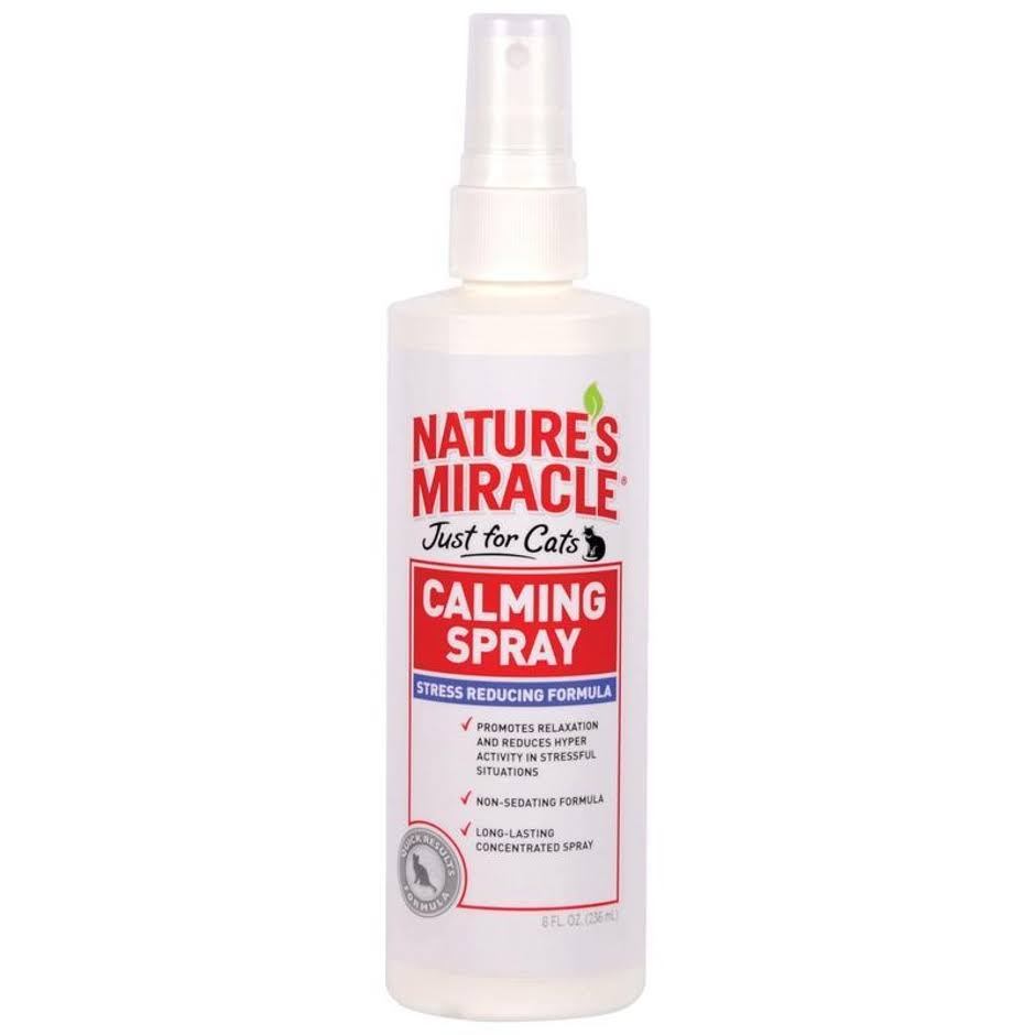 Nature's Miracle Just for Cats Calming Spray - 8 Oz