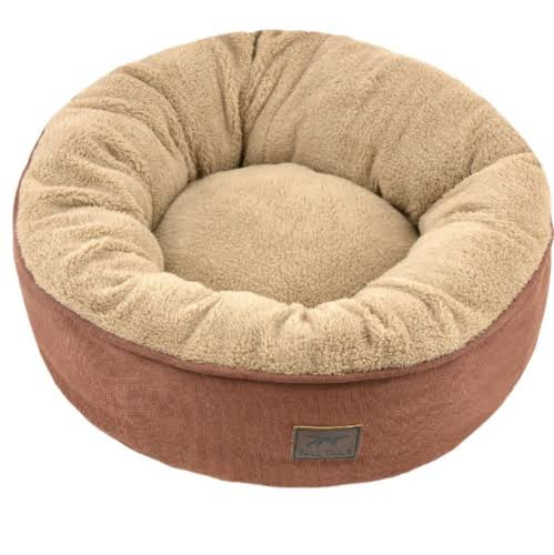 Tall Tails 88216972 Cat Donut Dog Bed Brown - Small