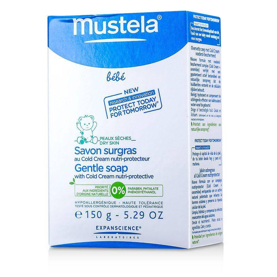 Mustela Gentle Soap With Cold Cream - 150g