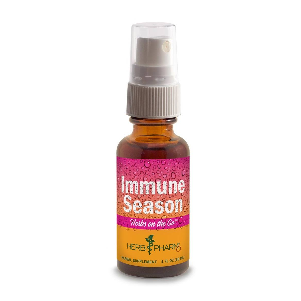 Herb Pharm Immune Season, Herbs on the Go - 1 fl oz