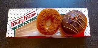 Krispy Kreme Halloween Donuts Calories by Krispy Kreme Gingerbread Ring And Bonfire Toffee Nibbles U0027n
