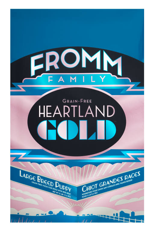 Fromm Prairie Gold Large Breed Dry Puppy Food - Beef, Pork & Lamb, 12lb