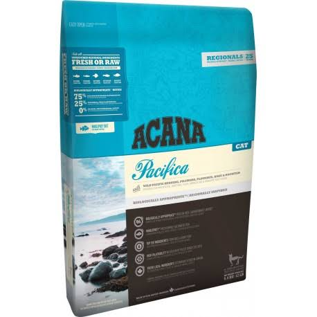 Acana Pacifica Cat & Kitted Dry Food - 1.8kg