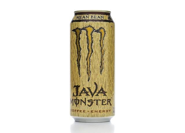 Monster Mean Bean Java Energy Drink - Coffee+Energy, 15oz