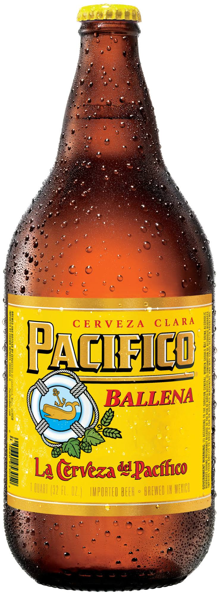Pacifico Ballena Pilsner - 32 fl oz bottle