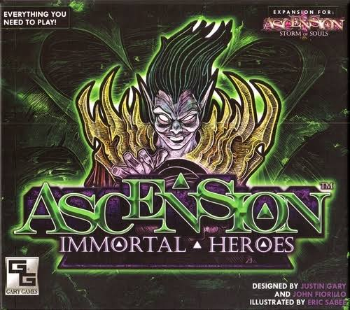 Ascension Immortal Heroes Card Game