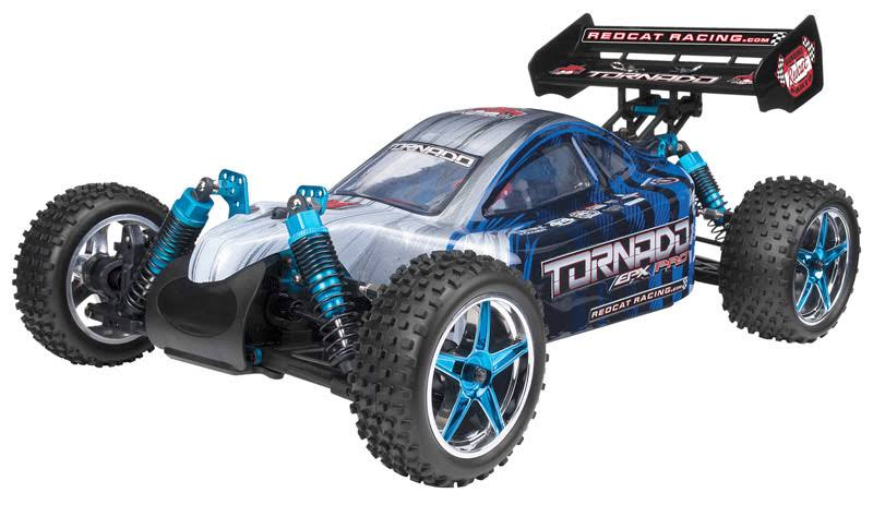 Redcat Racing 1/10 Tornado S30 Nitro 4WD RTR Buggy - Black/Red, 2.4Ghz