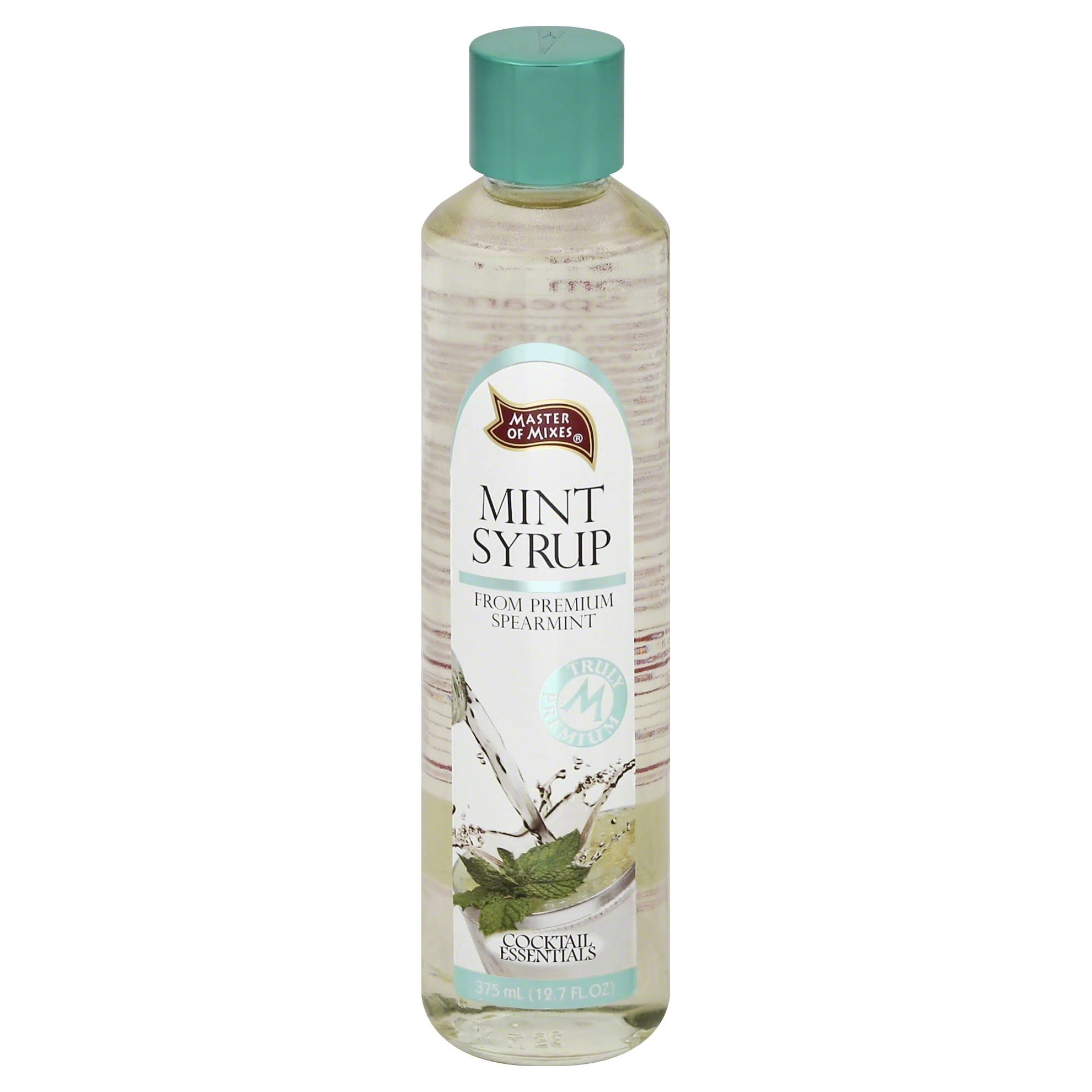 Master Of Mixes Syrup - Mint, 12.7oz