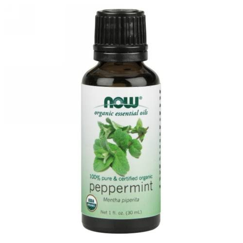 Now Organic Essential Oils - Peppermint, 30ml