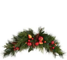Bethlehem Lights Christmas Trees Qvc by Wreaths U0026 Garlands U2014 Christmas U2014 Holiday U2014 For The Home U2014 Qvc Com