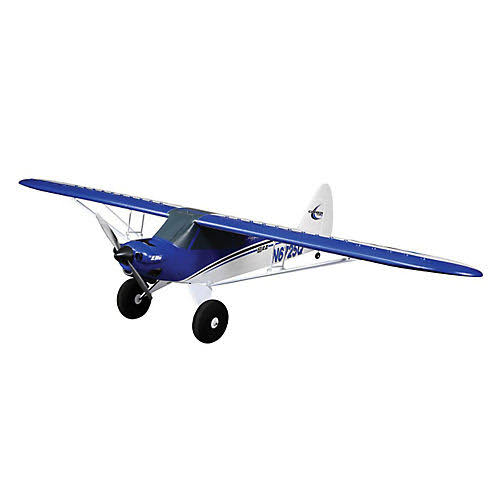 E Flite Scale Vehicle Plane Model Toy Kit - Carbon Z Cub BNF Basic Horizon