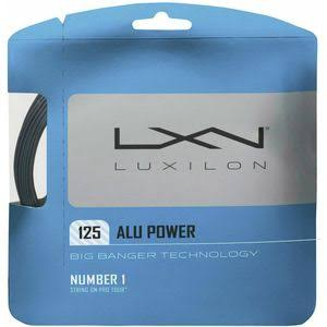 Luxilion ALU Power 125 Tennis Racquet String Set - 16L Gauge, 1.25mm