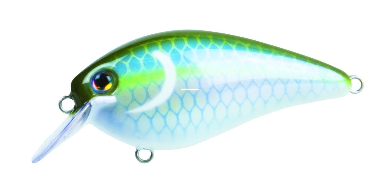 Strike King KVD Square Bill Pro Crankbait Sexy Green Shad HCKVDS1.5-688HD