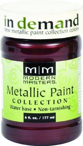 Modern Masters Metallic Paint Collection - Black Cherry, 177ml