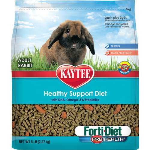 Kaytee Forti Diet Pro Health Rabbit Food - 5 lbs