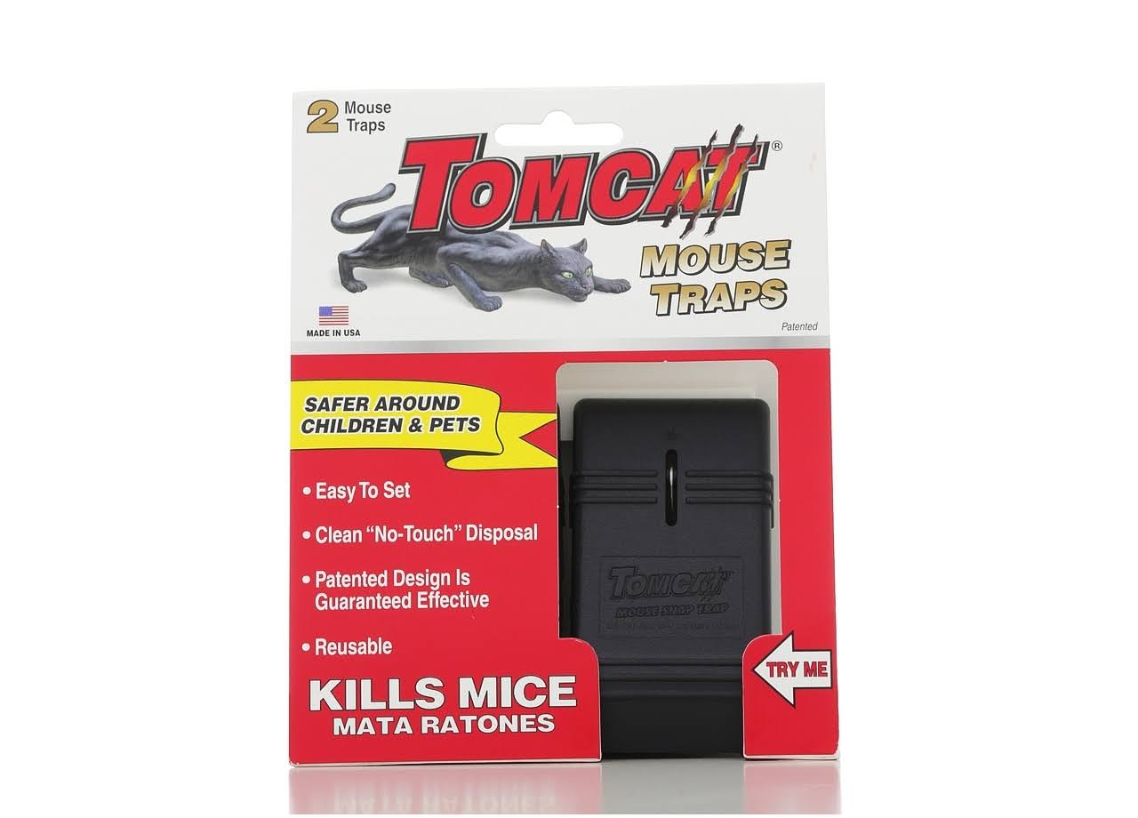 Tomcat Snap Traps Mouse Trap - 2ct