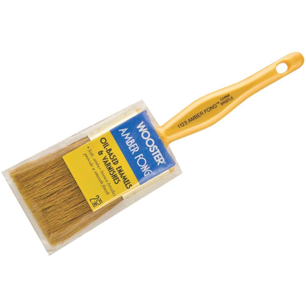 Wooster Amber Fong Bristle Brush - 2""