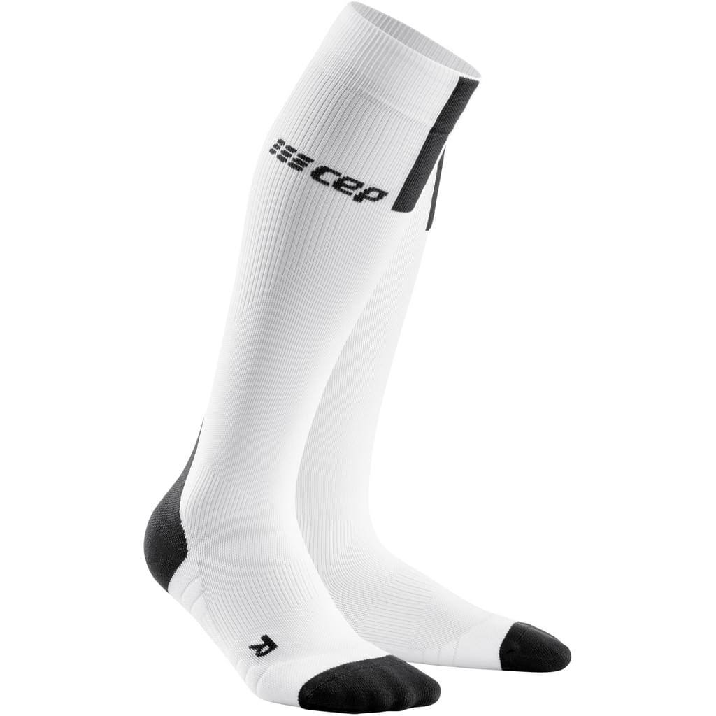 CEP Run Compression Socks 3.0 Men – White/Dark Grey
