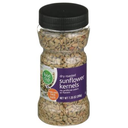 Food Club Dry Roasted Sunflower Kernels