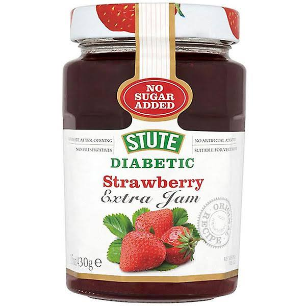 Stute - Diabetic Strawberry Extra Jam 430g