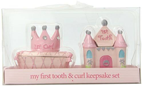 Baby Essentials Tooth and Curl Boxes - Princess