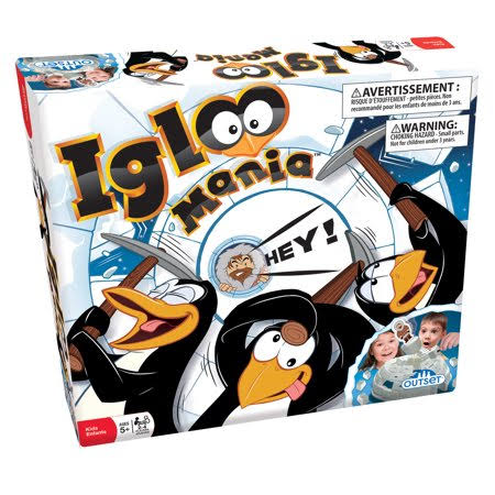 Outset Media Igloo Mania Board Game