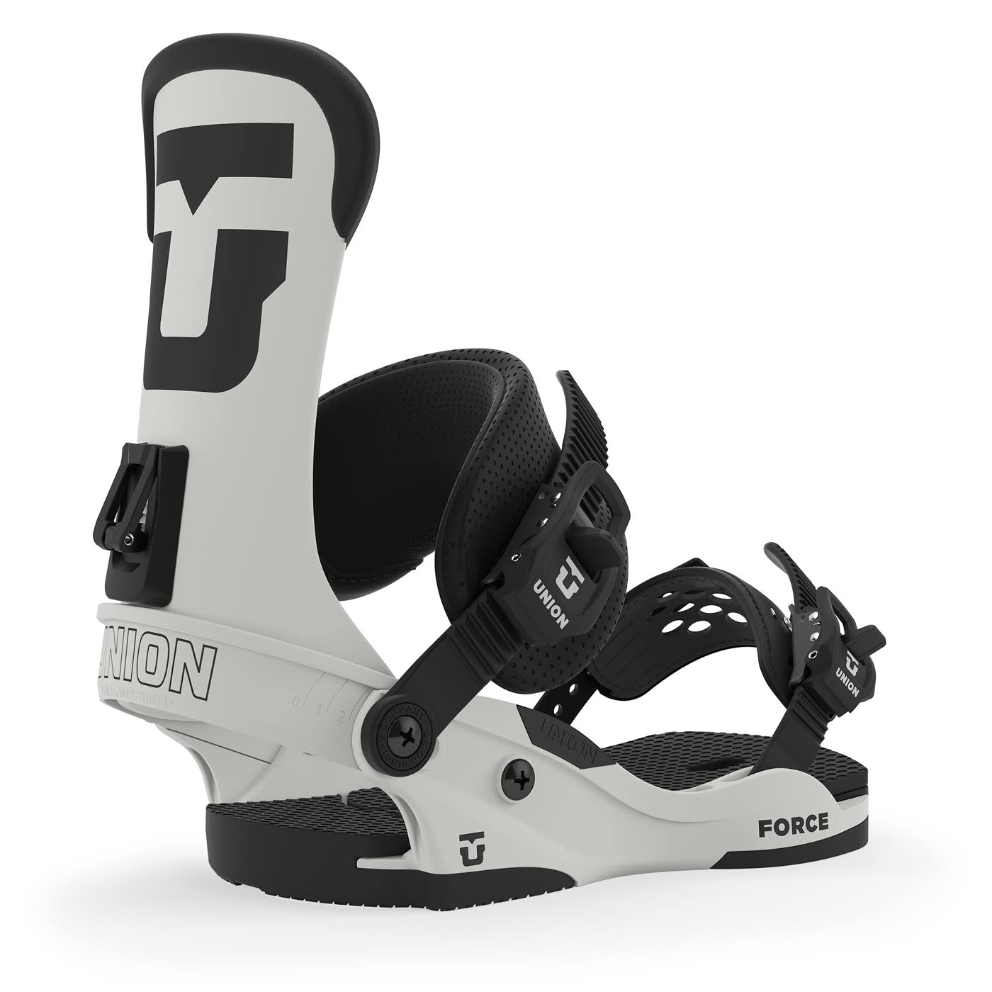 Union Force Men's Snowboard Bindings - White, Large