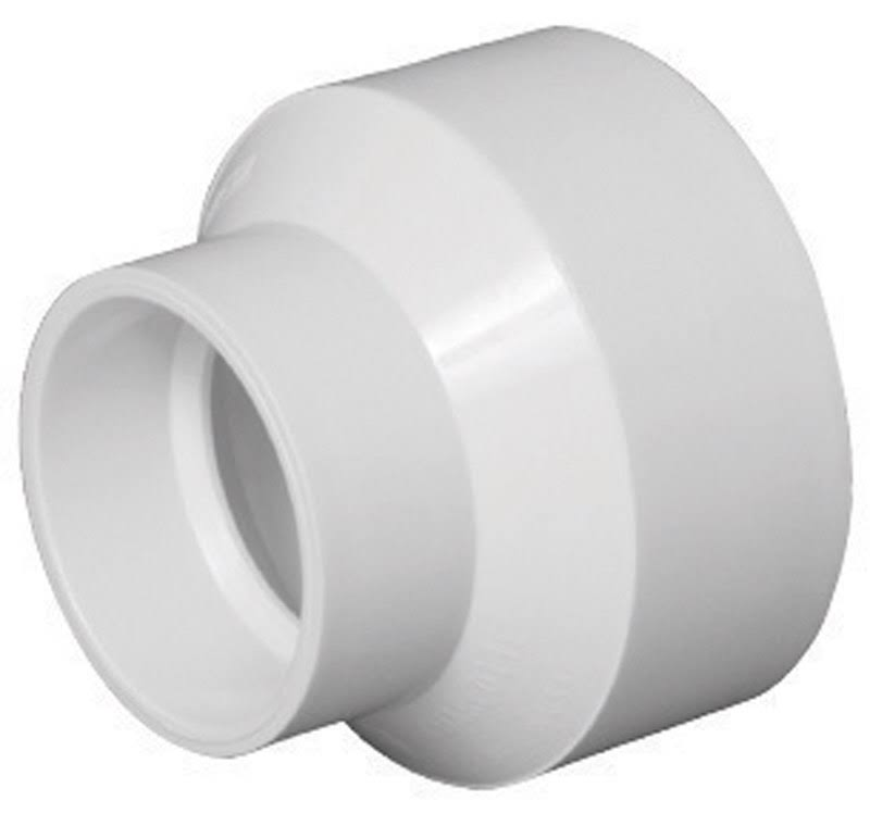 Charlotte Pipe PVC Adapter Coupling Fitting - 2 x 3 in